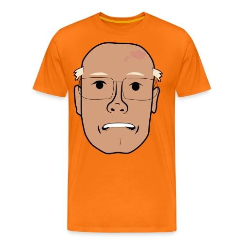 Åke orolig png - Premium-T-shirt herr