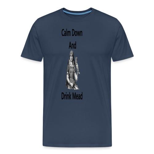 DrinkMead - Premium-T-shirt herr
