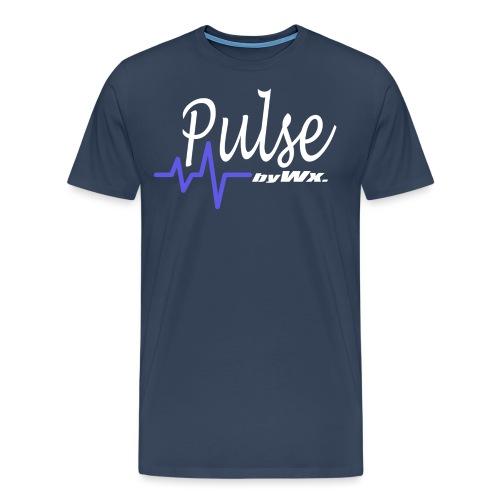 PULSE WHITE Signature - T-shirt Premium Homme