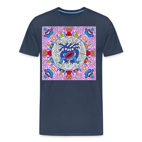 speedy virus send messeng - Männer Premium T-Shirt