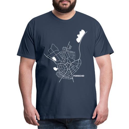 Forschd Karte - Männer Premium T-Shirt
