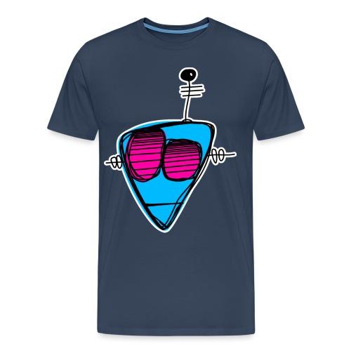 robot head 001 - Mannen Premium T-shirt