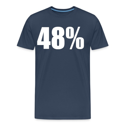 48% Red - Men's Premium T-Shirt