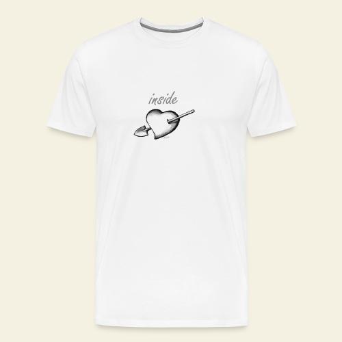 hearth farmer white - Maglietta Premium da uomo