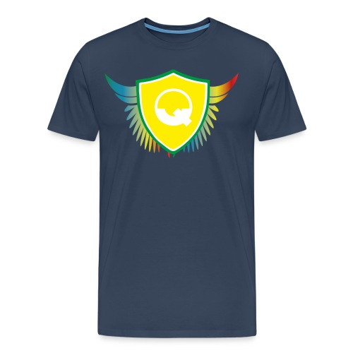 Logo Quicky Angel Color - T-shirt Premium Homme