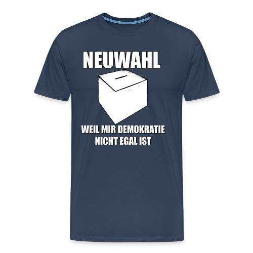 Neuwahl - Shirt - Männer Premium T-Shirt