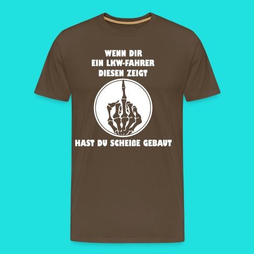 LKW-Fahrer - Männer Premium T-Shirt