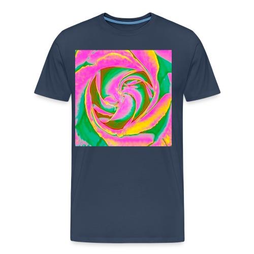 Psychedelic Rose - Men's Premium T-Shirt