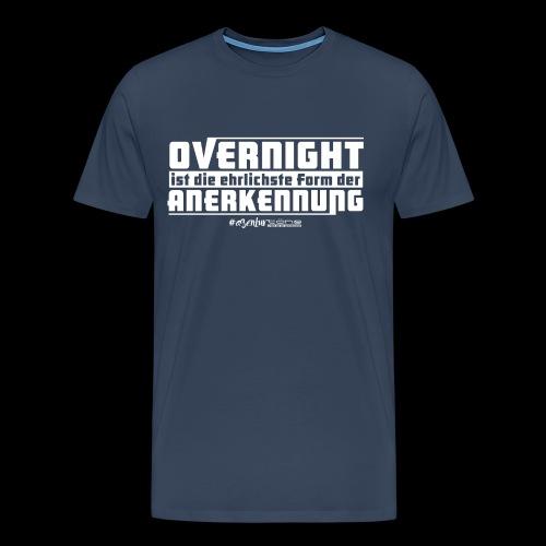 Overnight - Männer Premium T-Shirt