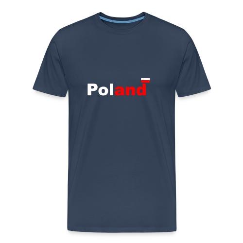 Poland Polen Polska - Männer Premium T-Shirt