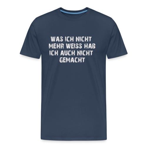nicht_mehr_weiss - Männer Premium T-Shirt
