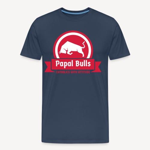 PAPAL BULLS - Männer Premium T-Shirt