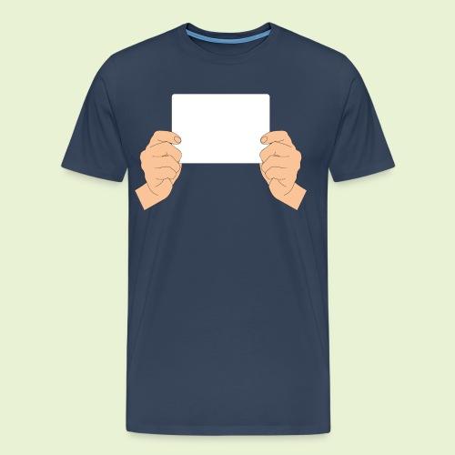 Weißabgleich - handlich - Männer Premium T-Shirt