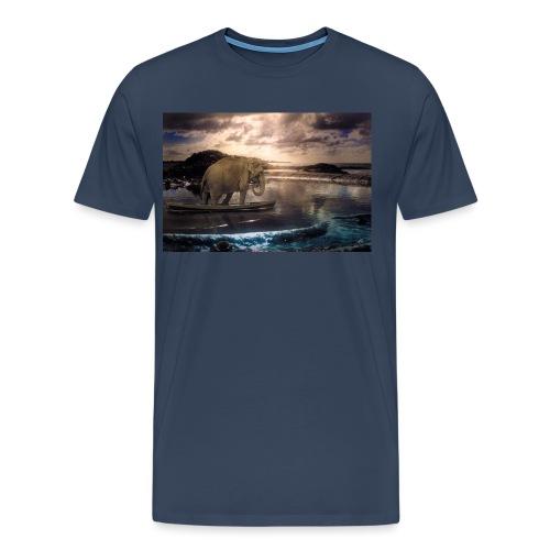 Set adrift on memory blis - Men's Premium T-Shirt