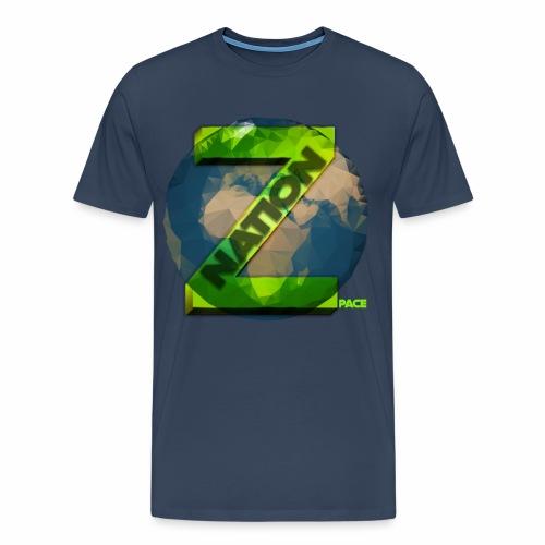 Zpace NATION Logo (pace) - Men's Premium T-Shirt