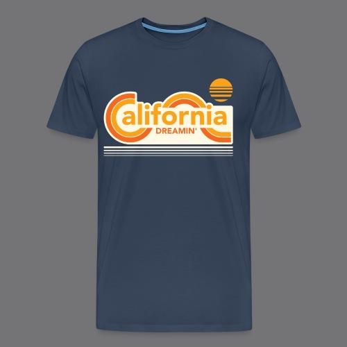 CALIFORNIA DREAMIN Tee Shirts - Men's Premium T-Shirt
