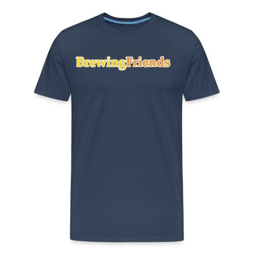 BrewingFriends con ombra png - Maglietta Premium da uomo