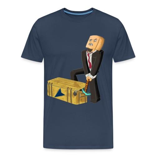 tskjorte kasseåpning png - Premium T-skjorte for menn