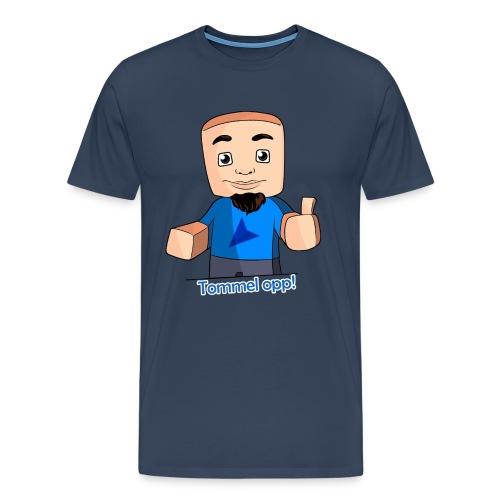 tskjorte tommel opp png - Premium T-skjorte for menn