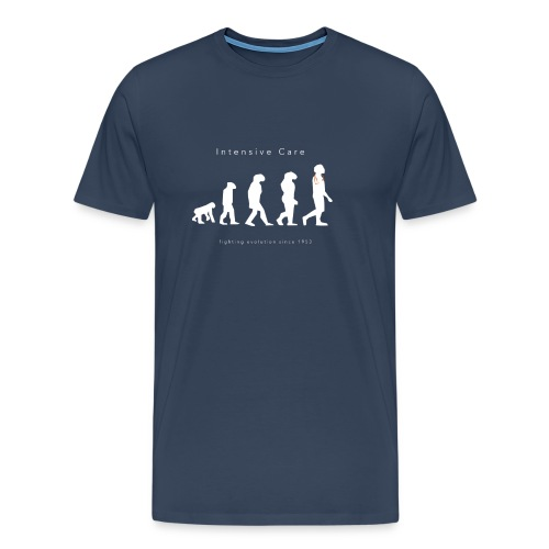 Intensive Care Fighting Evolution Since 1953 - Men's Premium T-Shirt