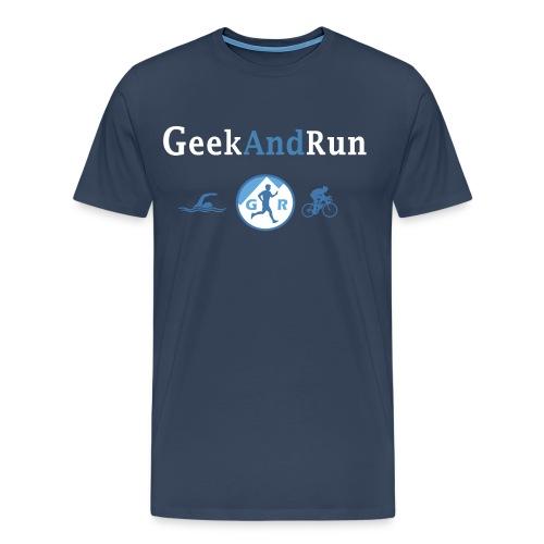 geekandrun - T-shirt Premium Homme