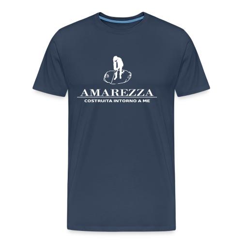AMAREZZA-LOGO-BIANCO - Maglietta Premium da uomo