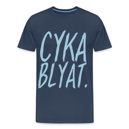 cyka blyat - T-shirt Premium Homme