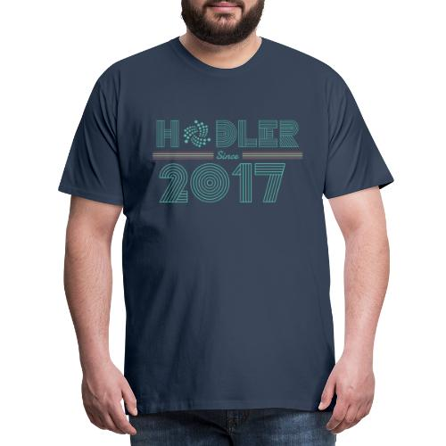 IOTA Hodler since 2017 - Männer Premium T-Shirt
