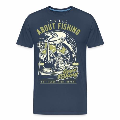 All About Fishing - Männer Premium T-Shirt