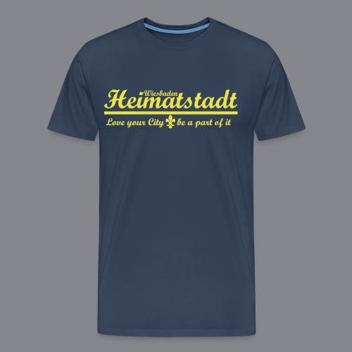 Love your City Wiesbaden - Männer Premium T-Shirt