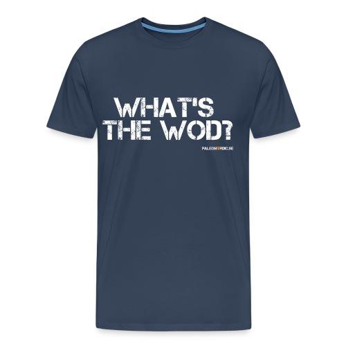 whatsthewod - Premium-T-shirt herr