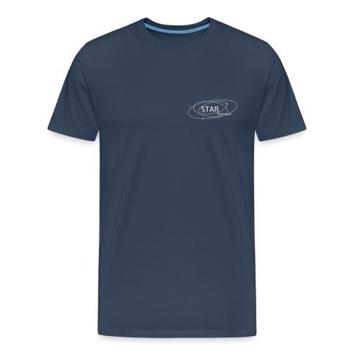 STAR-Logo mit bunten Himmelskörpern - Männer Premium T-Shirt