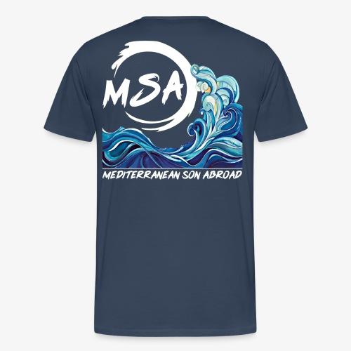 Mediterranean Son Abroad OFFICIAL - Men's Premium T-Shirt