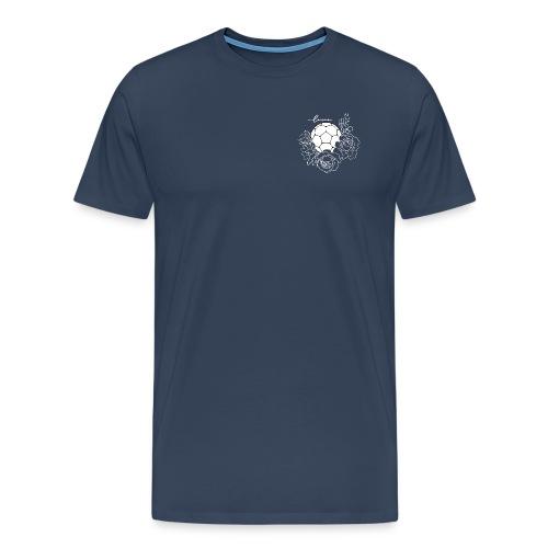 Handball Floral - Männer Premium T-Shirt