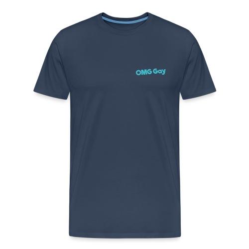Logo Blue png - Men's Premium T-Shirt