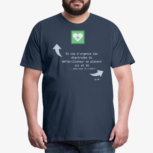 Défibrillateur - T-shirt Premium Homme