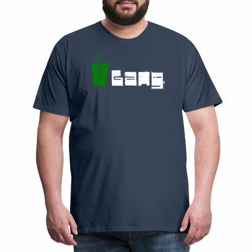V Gang Vegan Vegetarier Lifestyle Shirt T-Shirt - Männer Premium T-Shirt