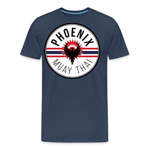 phoenix muay thai07 - Men's Premium T-Shirt