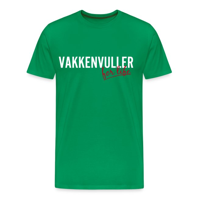 Vakkenvuller for life
