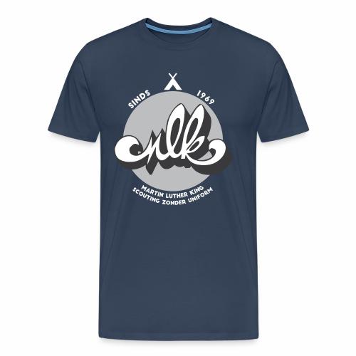 MLK scouting 50 jaar - wit - Mannen Premium T-shirt