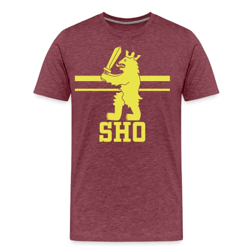 SHO Satakunta - Miesten premium t-paita