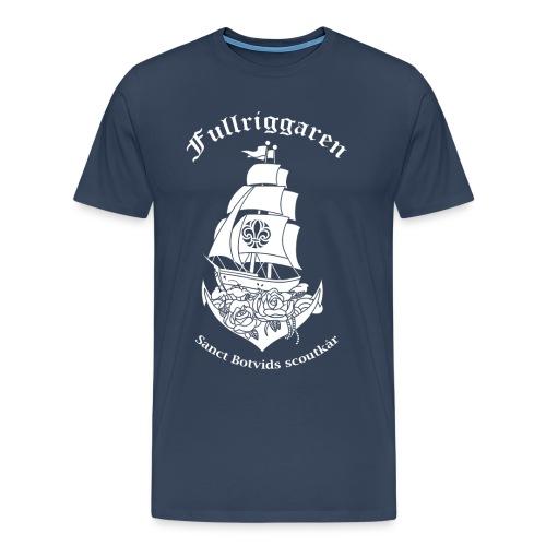 Fullriggaren5 png - Premium-T-shirt herr