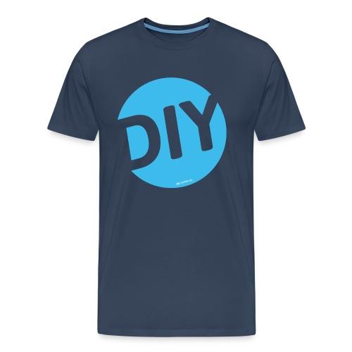 DIY Helden blau - Männer Premium T-Shirt