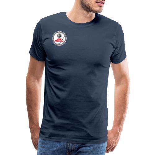 Logo Askim Innebandy - Premium T-skjorte for menn