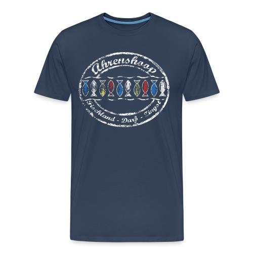 Ahrenshoop weiss - Männer Premium T-Shirt