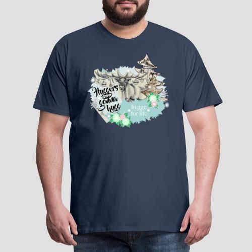 Hygge for Rudy - Männer Premium T-Shirt