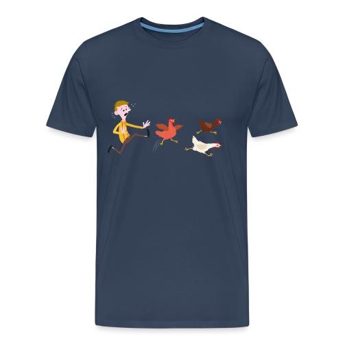 Chicken Run transparent png - Men's Premium T-Shirt