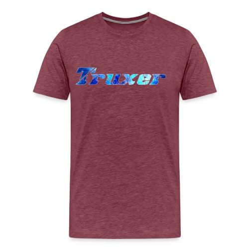 Truxer Name with Sick Blue - Men's Premium T-Shirt
