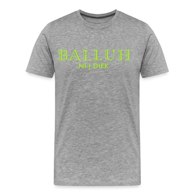 BALLUH NI-J DIEK - navy/neon