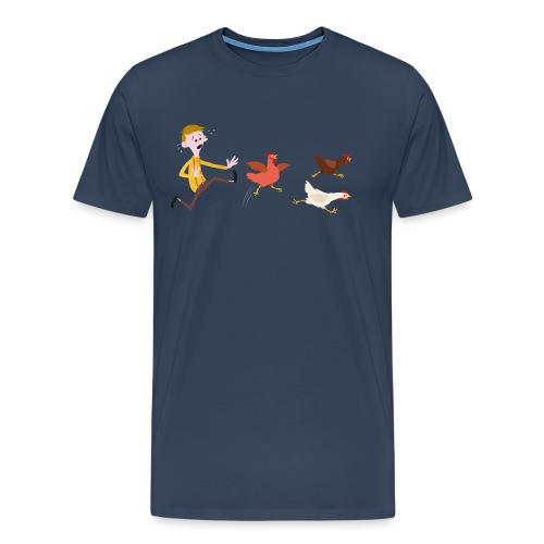 Chicken Run transparent png - Men's Premium T-Shirt